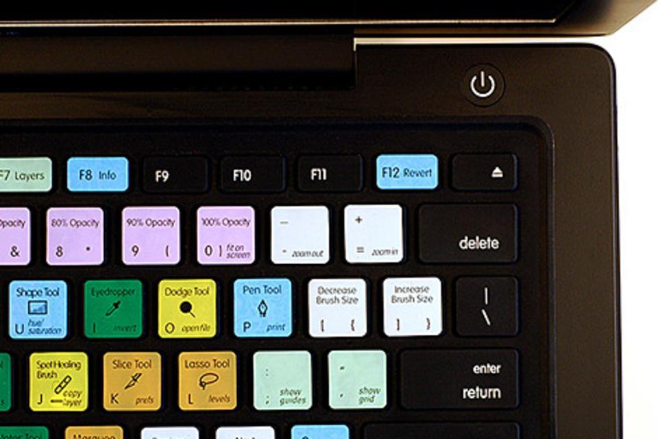 Keyboard Shortcut Skins for Macs