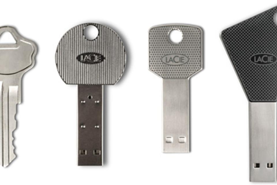 LaCie Key USB Drives