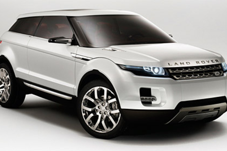 Land Rover LRX Concept
