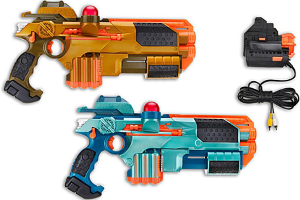 Lazer Tag Multiplayer Battle System