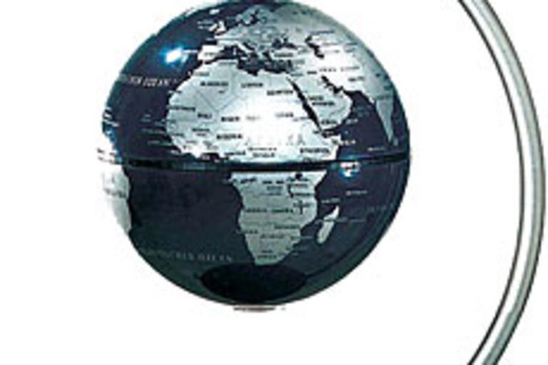Levitating Desktop Globe