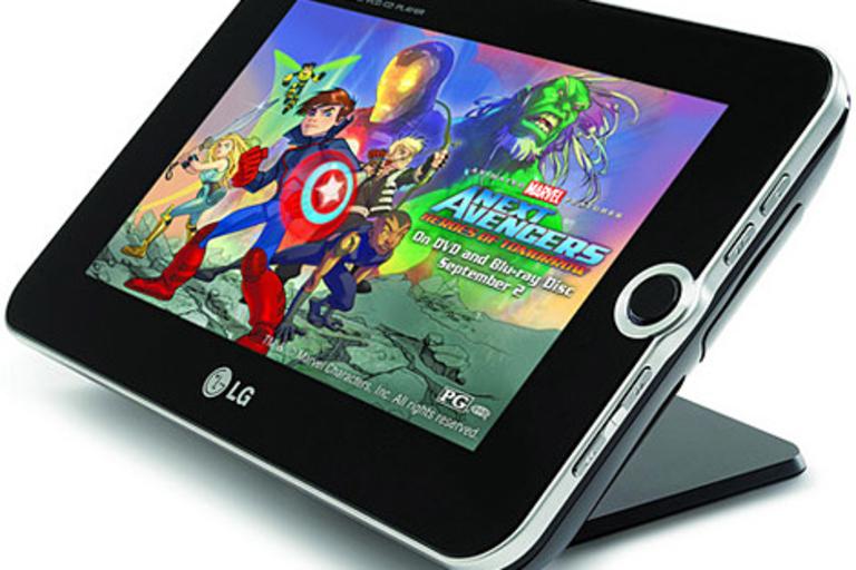 LG Portable DVD Player & Digital Photo Frame