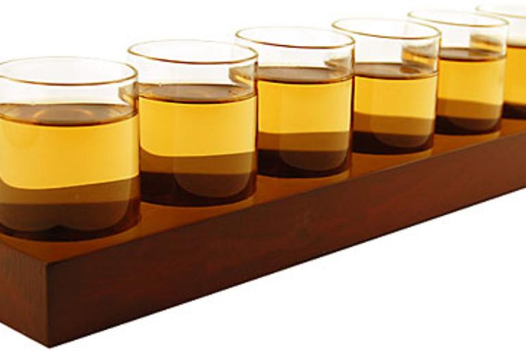 Liqueur Tasting Shot Glasses