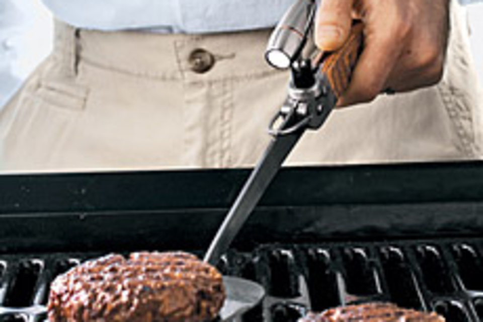 Magnetic Mini Stainless Steel Grill Light