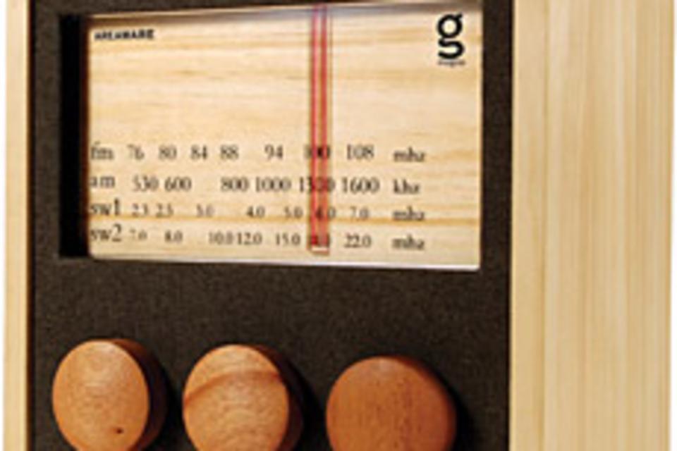 MAGNO Wooden Radio