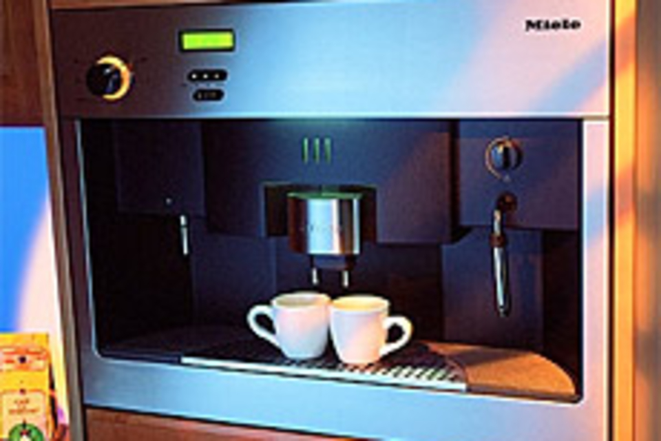 Miele In-Wall Coffee System
