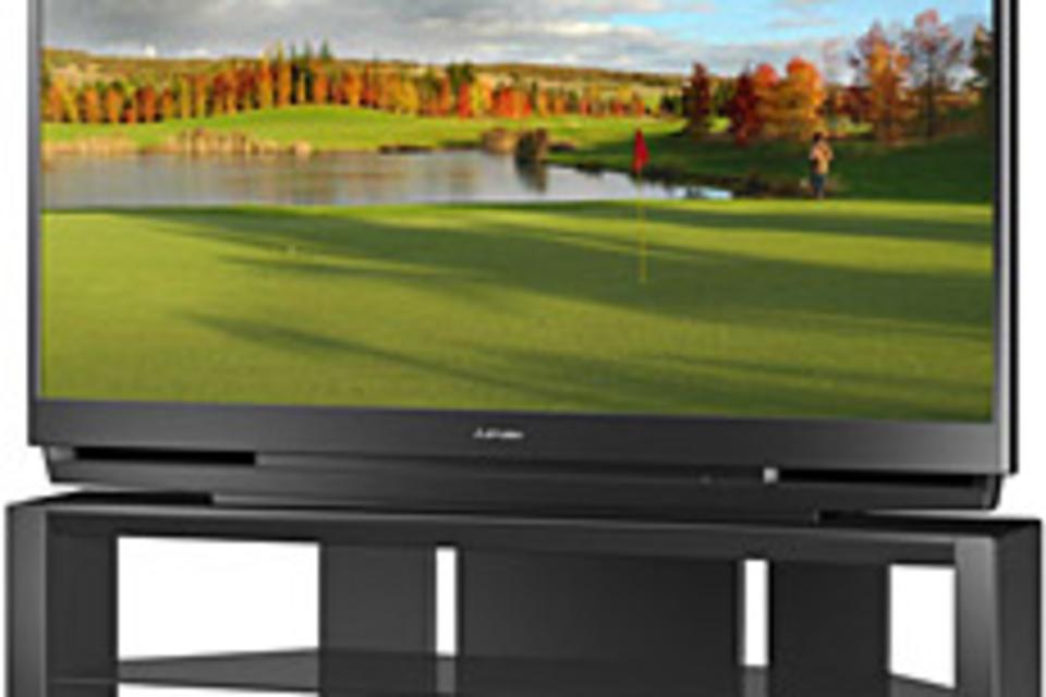 Mitsubishi Thin-Frame 1080p DLP HDTV