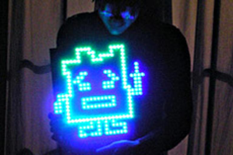 Ignignokt Mooninite LED Advertisement