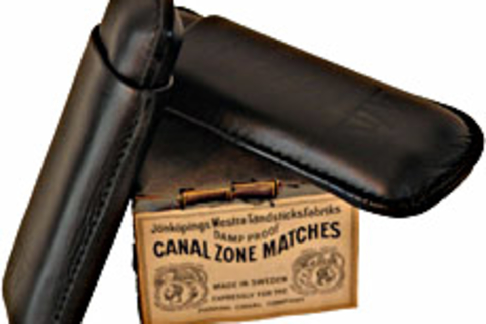 Morgan Grays Cigar Case