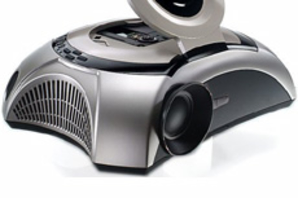 Optoma MovieTime Projector/DVD Player