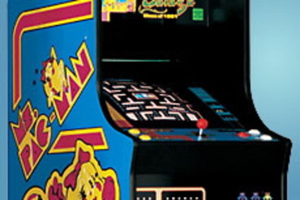 Ms. Pac Man Arcade Game