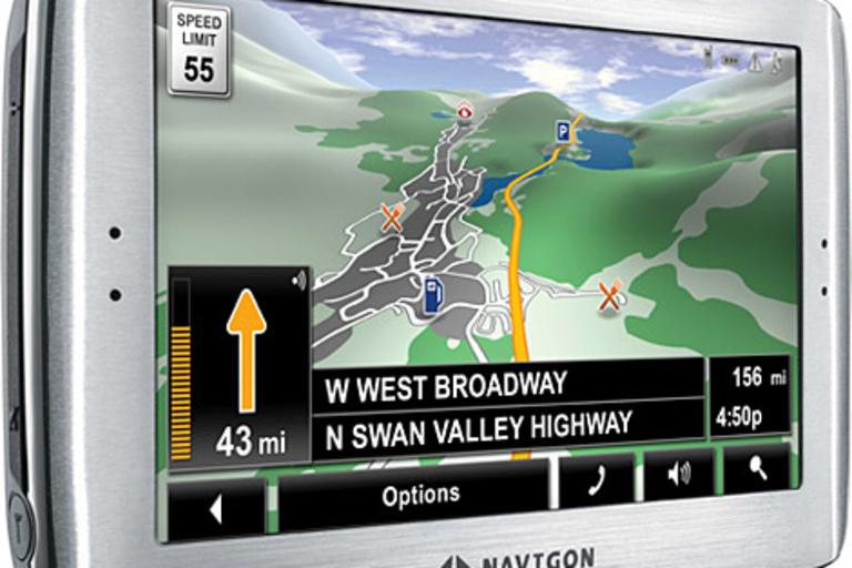 Navigon 8100T GPS