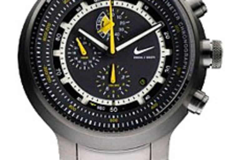 Nike Lance Armstrong Alti Chrono TI Watch