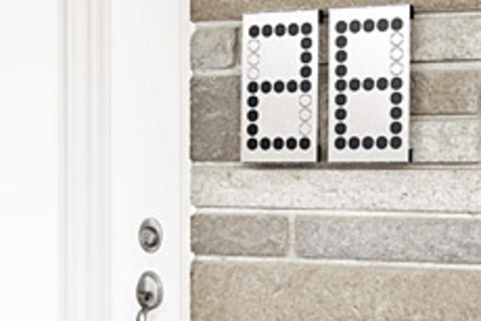 Numbra House Number System