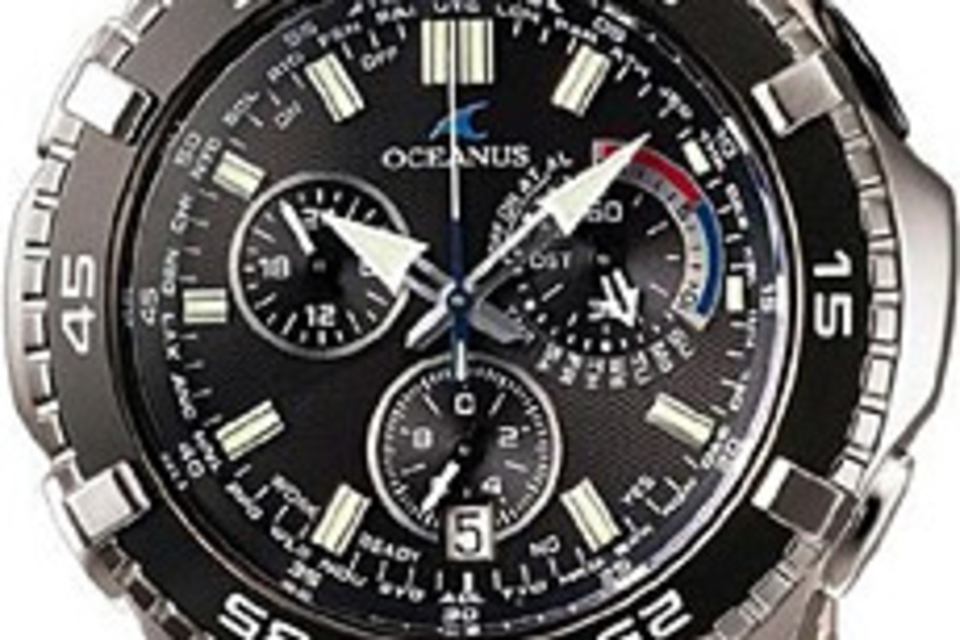 Oceanus 5-Motor Solar Atomic Chronograph