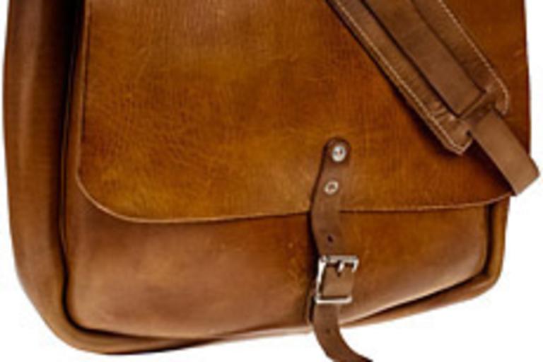 Original Leather Postal Messenger