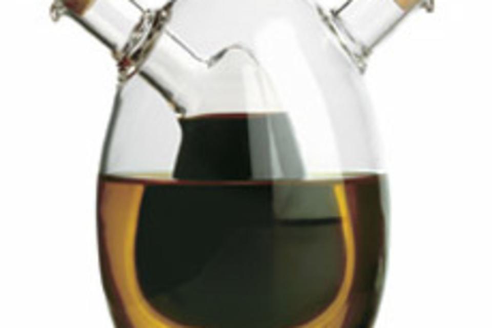 Oval Oil and Vinegar Cruet