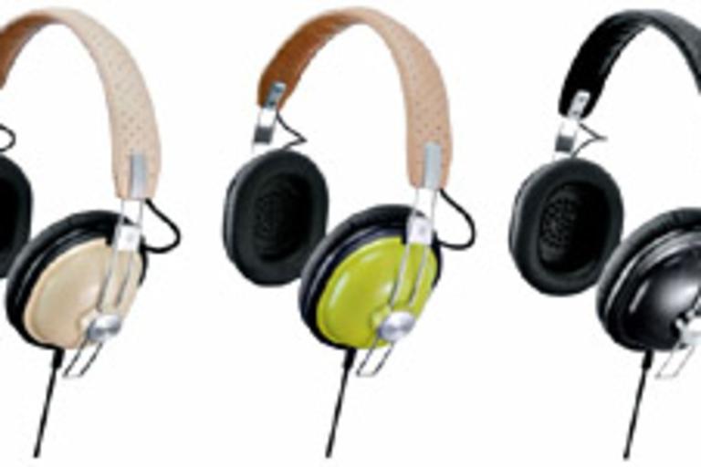 Panasonic Retro Piano Painted Headphones