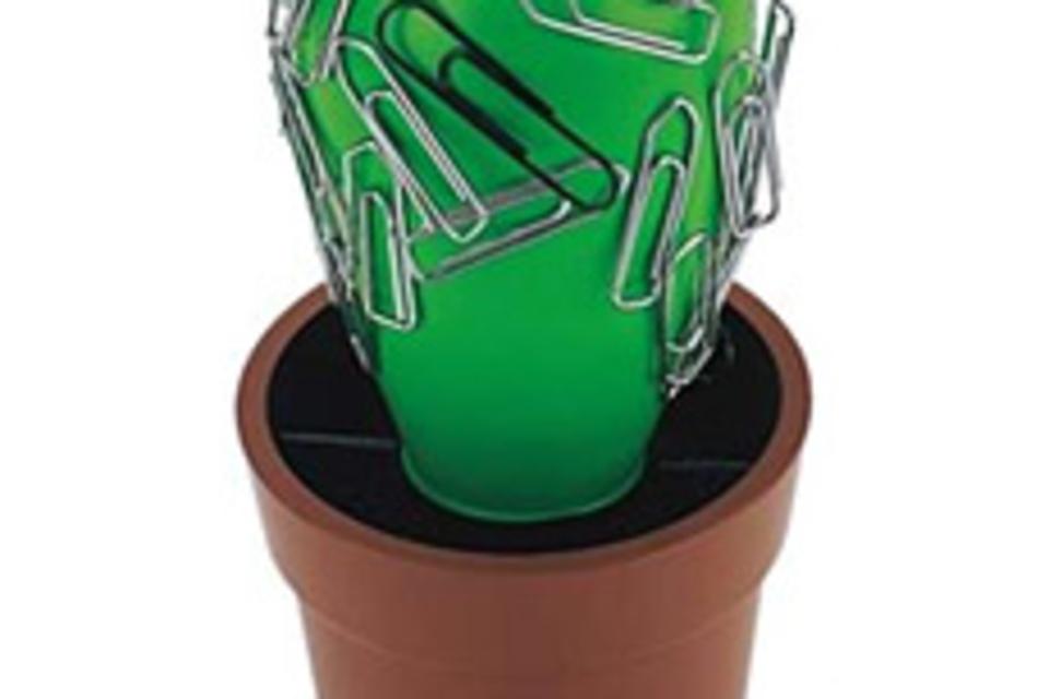 Paperclip Cactus