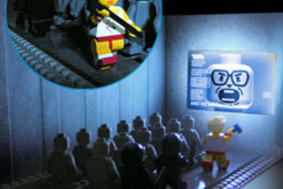 PodBrix 1984 Playset