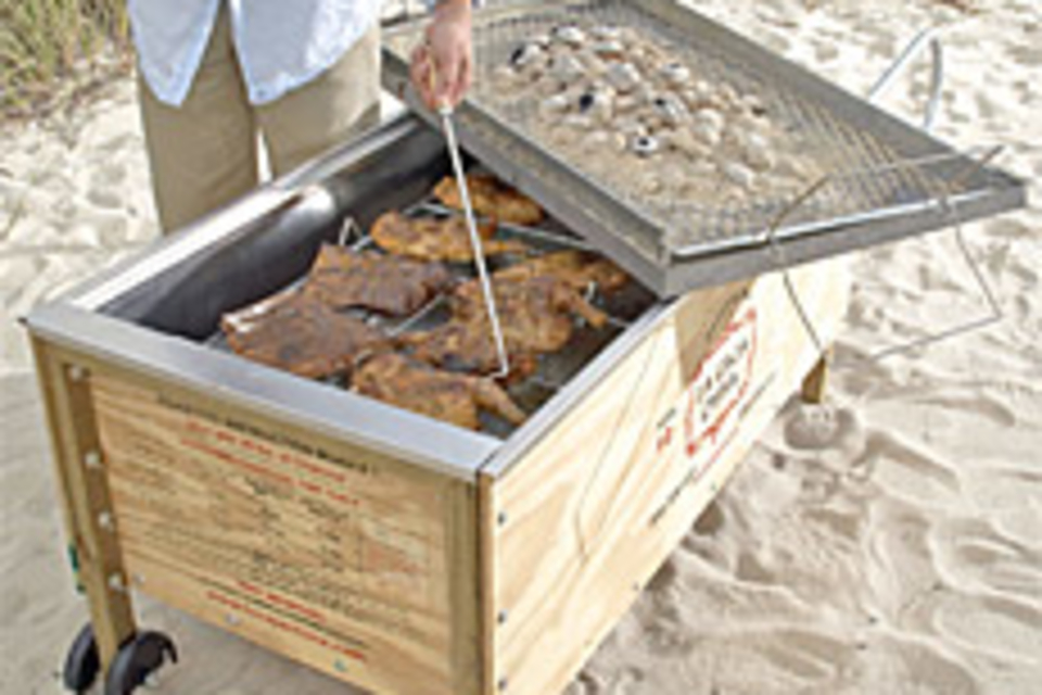 Portable Barbecue Pit