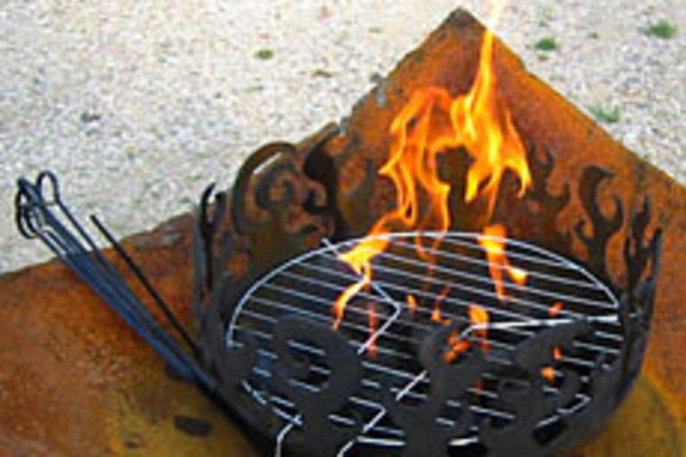 Pot-de-Feu Portable Grill