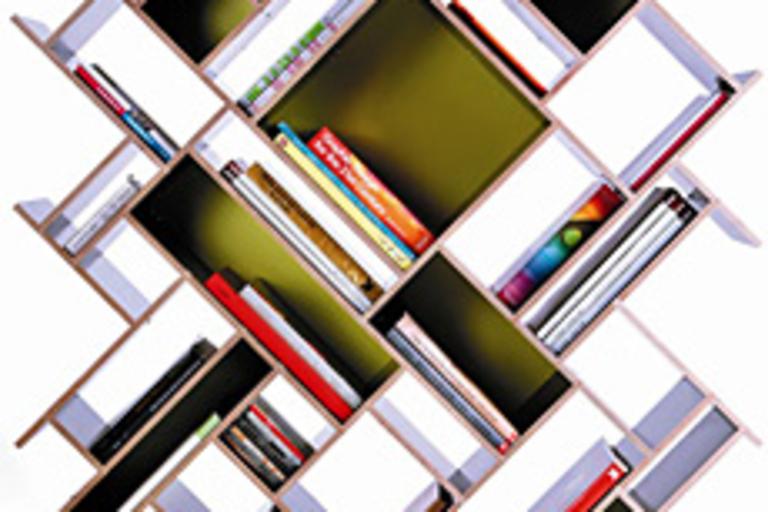 Quad Bookshelf