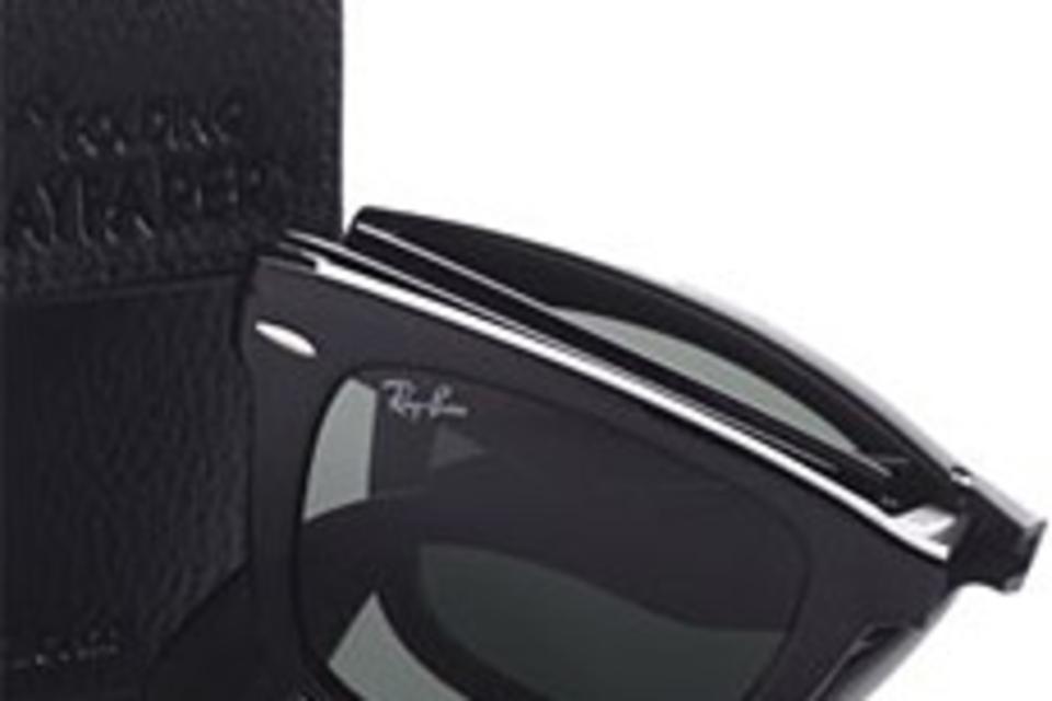 ray ban style sunglasses xvqt  Ray-Ban Folding Wayfarer Sunglasses
