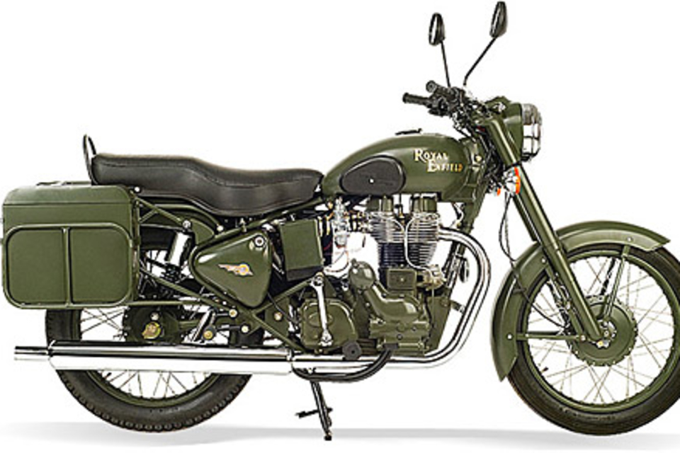 royal enfield bullet 500 military motorcycle uncrate. Black Bedroom Furniture Sets. Home Design Ideas