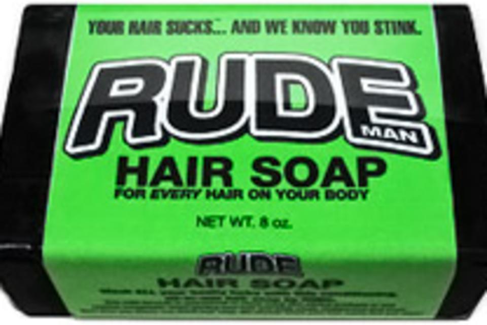 Rude Man Hair Soap