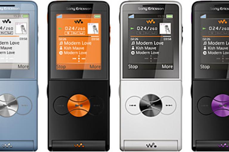 Sony Ericsson W350 Walkman Phone