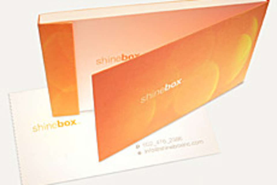 Shinebox Business Cards
