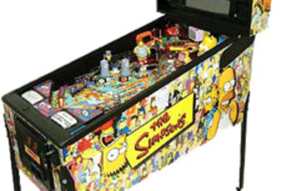 The Simpsons Pinball Party Machine