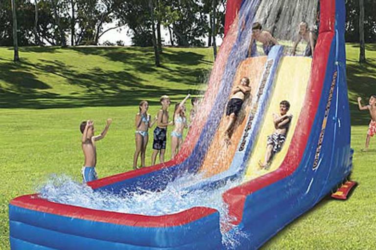 Six Flags Banzai Falls Mega Racer