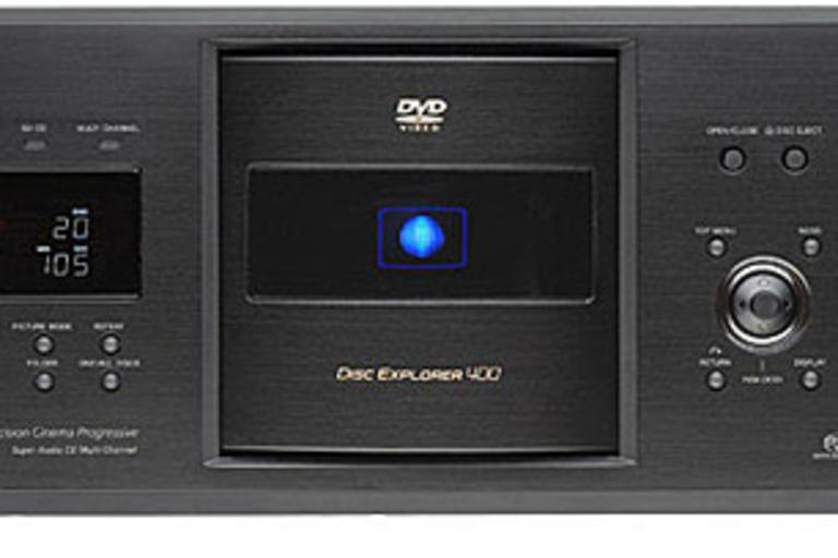 Sony 400-Disc DVD/SA-CD/CD Changer