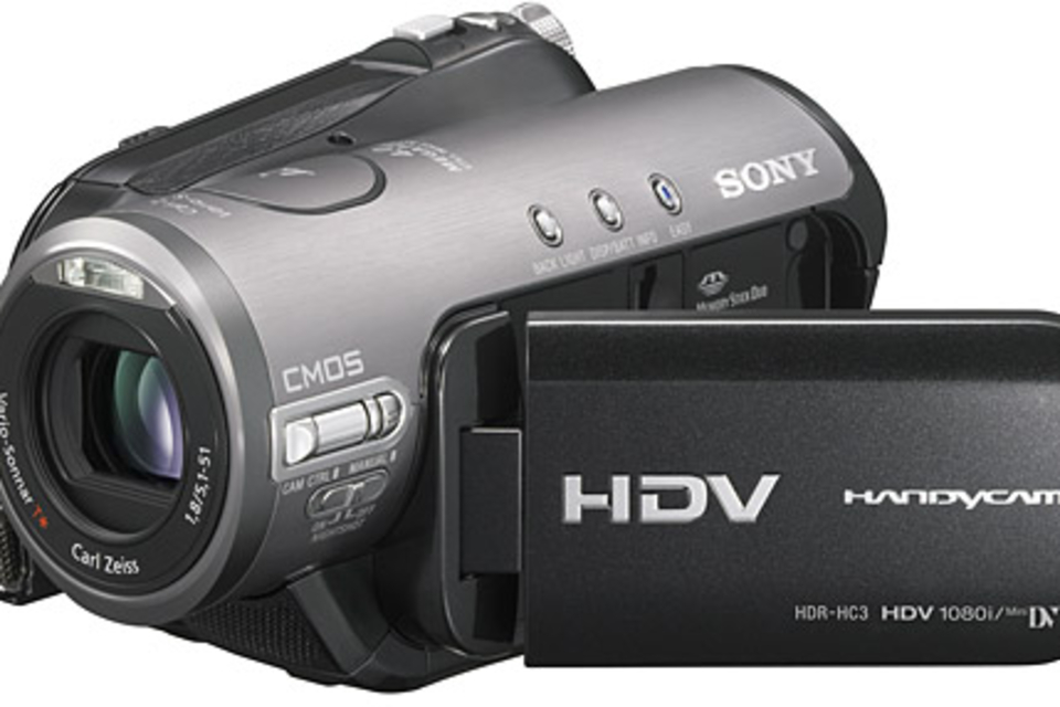 Sony HDR-HC3 HDV High-Definition Camcorder