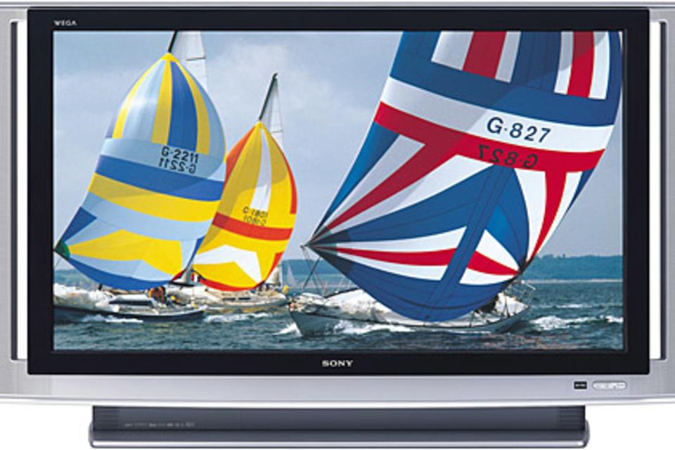 Sony 60-inch Grand WEGA SXRD Rear Projection HDTV