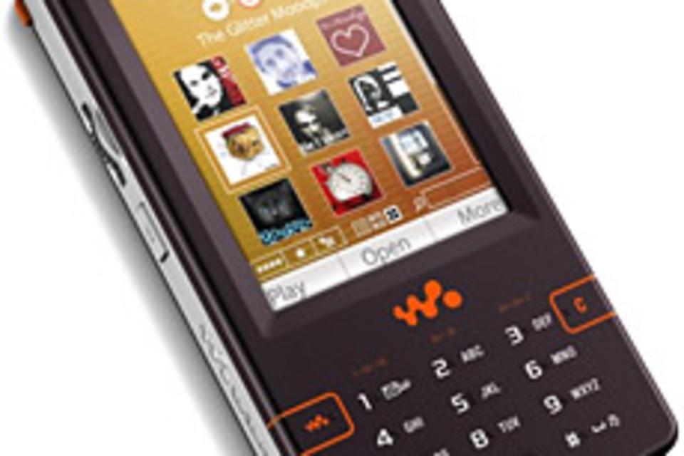 Sony Ericsson W950i Walkman Phone