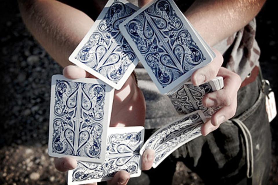 Split Spade Cards