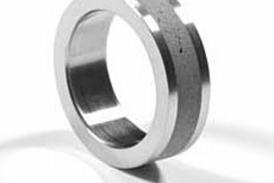 Stainless Steel and Concrete Ring