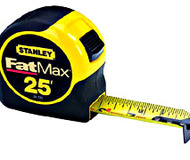 Stanley 25' Fat Max Tape Measure