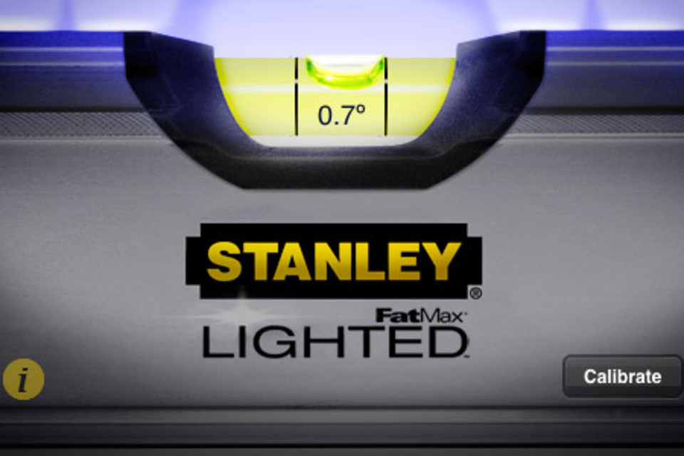 Stanley Level iPhone App