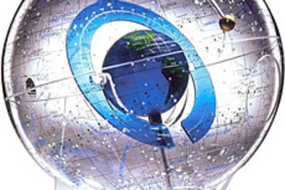 Starship Earth Globe