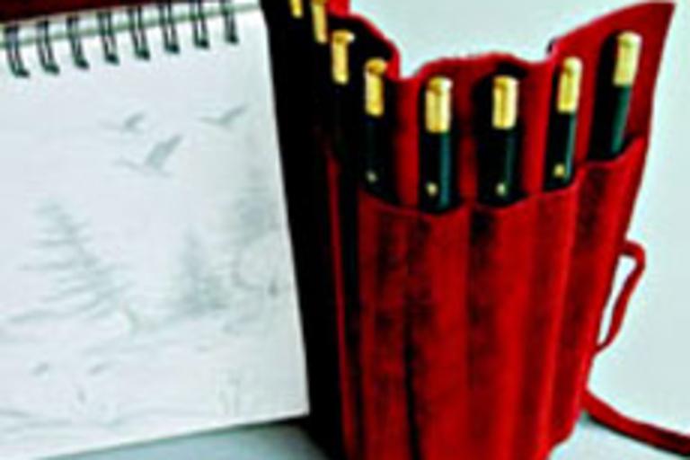 Suede Lead Pencil Set