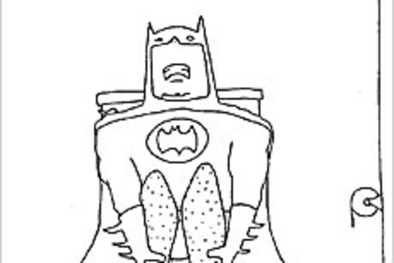 Superheroes On The Toilet