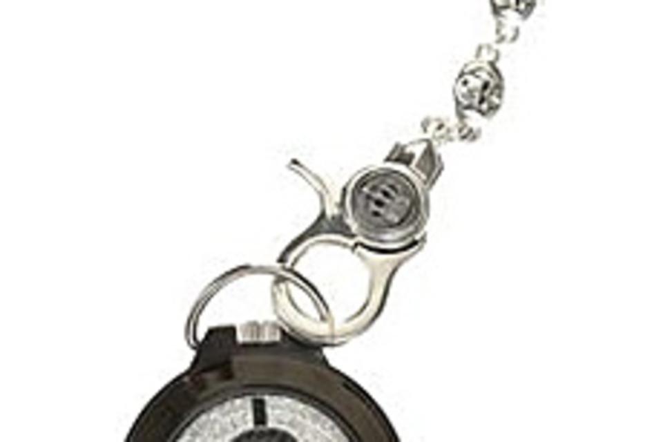 Swarovski Skull Pocket Watch