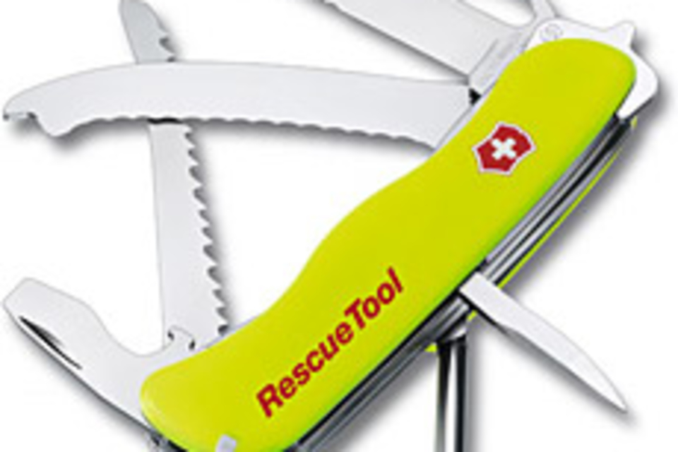 Victorinox Swiss Army Rescue Tool Uncrate