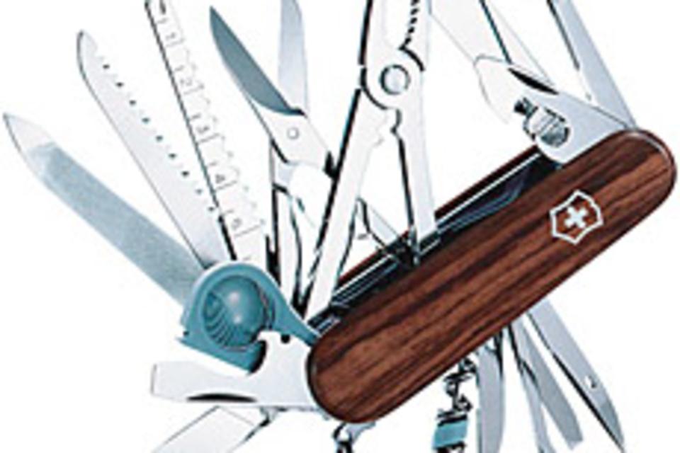 Swisschamp Rosewood Knife