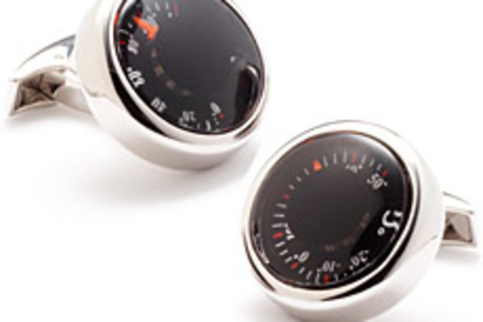 Thermometer Cufflinks
