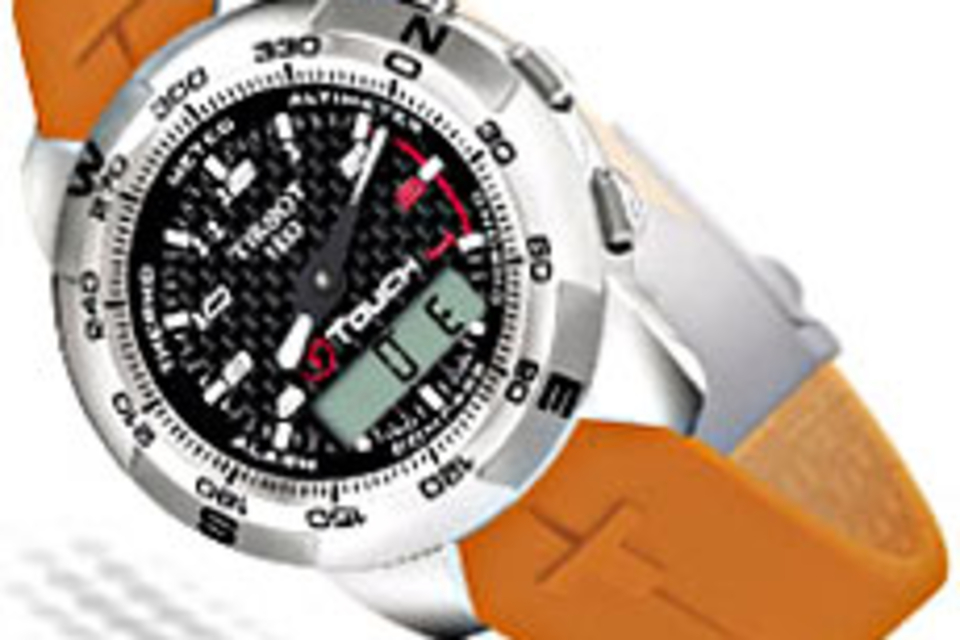 Tissot T-Touch Titanium Watch